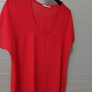 Lush silk blouse